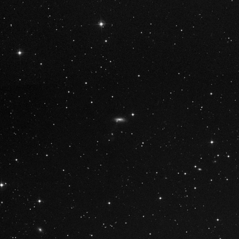 Image of NGC 2742A - Spiral Galaxy in Ursa Major star