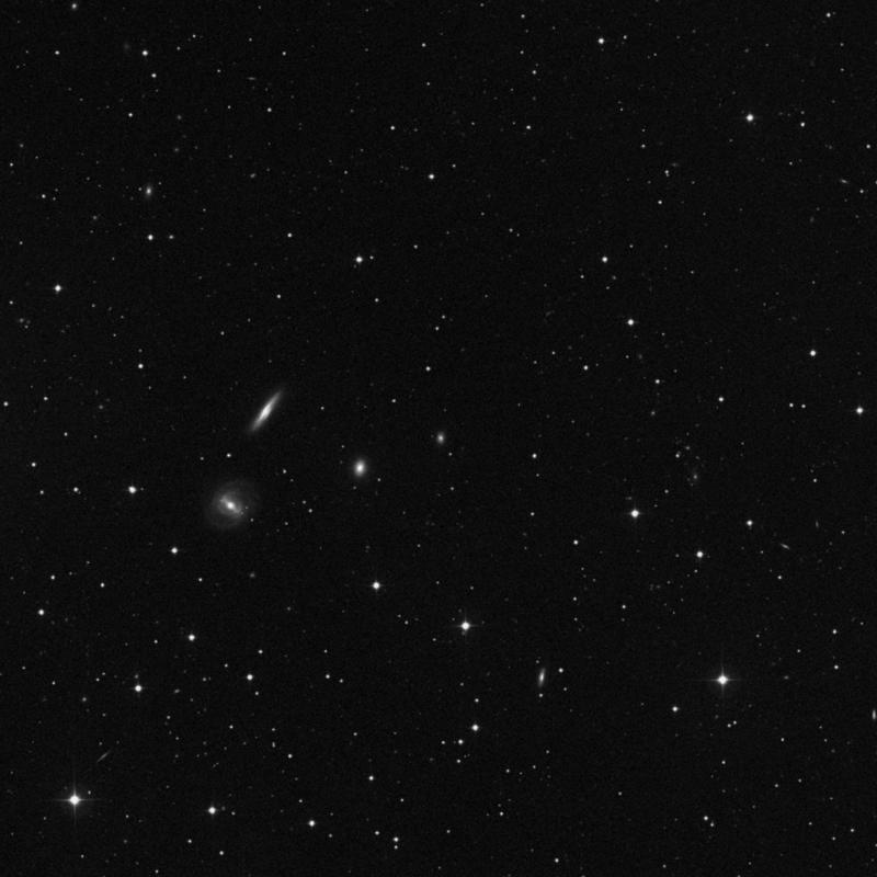 Image of NGC 2762 - Lenticular Galaxy in Ursa Major star