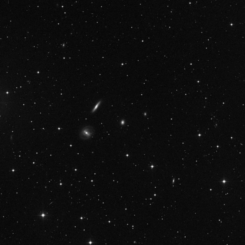 Image of NGC 2767 - Elliptical/Spiral Galaxy in Ursa Major star