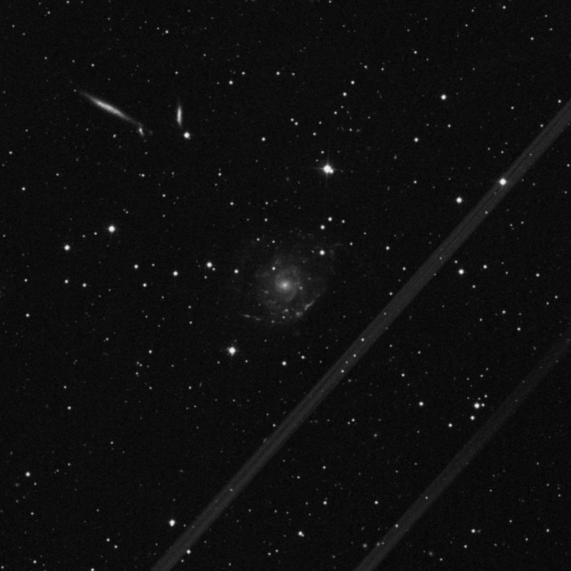 Image of NGC 2805 - Intermediate Spiral Galaxy in Ursa Major star