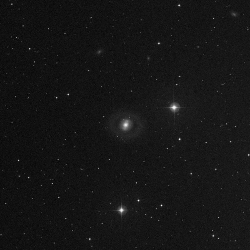 Image of NGC 2859 - Lenticular Galaxy in Leo Minor star