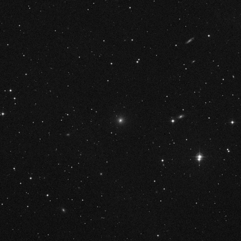 Image of NGC 2892 - Elliptical Galaxy in Ursa Major star