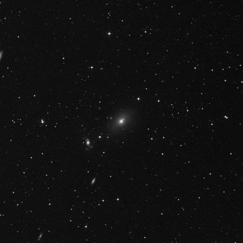 Image of NGC 2911 - Lenticular Galaxy in Leo star