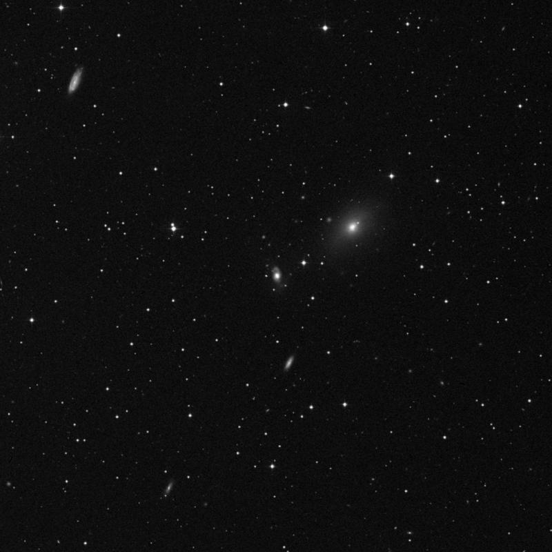Image of NGC 2914 - Barred Spiral Galaxy in Leo star