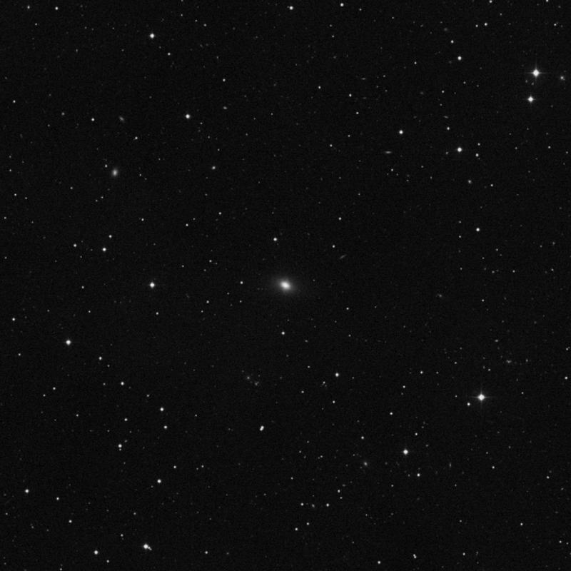 Image of NGC 2918 - Elliptical Galaxy in Leo star