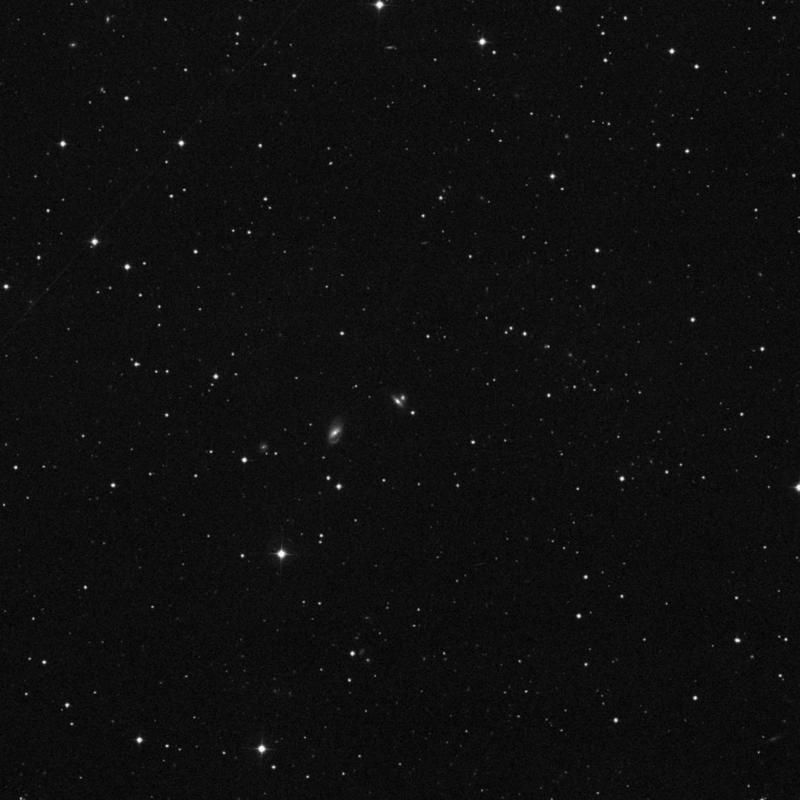 Image of NGC 2957 - Galaxy Pair in Ursa Major star