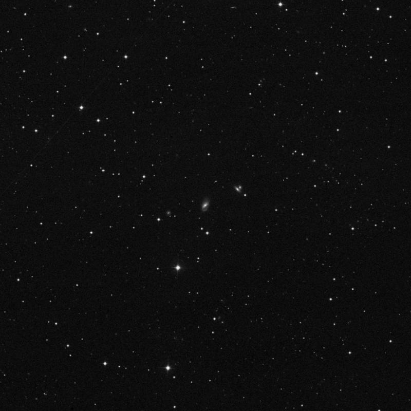 Image of NGC 2963 - Barred Spiral Galaxy in Ursa Major star