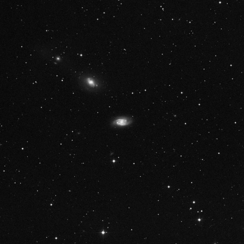 Image of NGC 2964 - Spiral Galaxy in Leo star