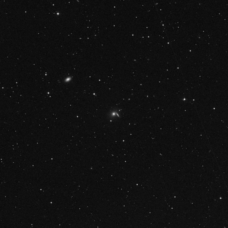 Image of NGC 2991 - Lenticular Galaxy in Leo star