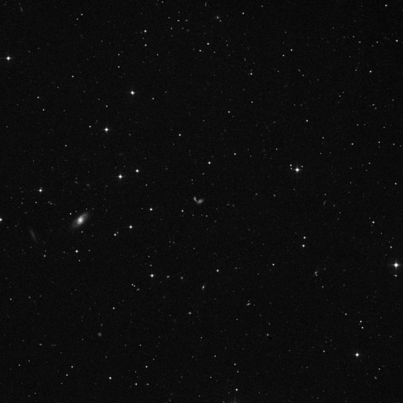 Image of NGC 3048 NED01 - Irregular Galaxy in Leo star