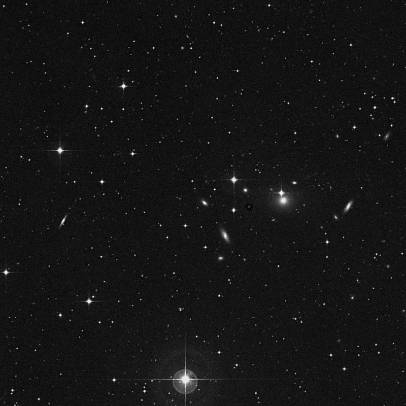 Image of NGC 3093 - Elliptical Galaxy star