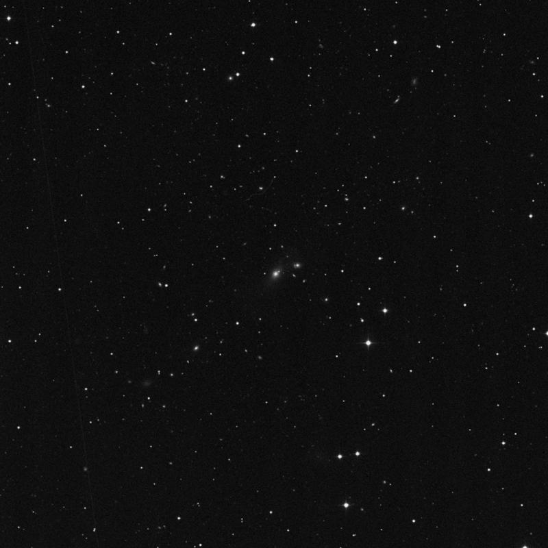 Image of NGC 3099 - Elliptical Galaxy in Leo Minor star