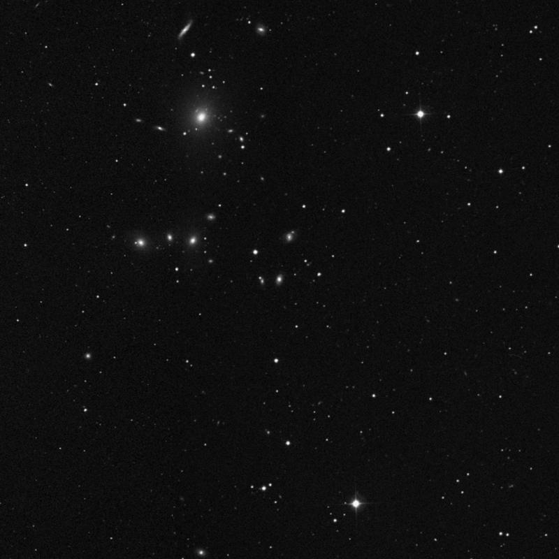 Image of NGC 3151 - Lenticular Galaxy in Leo Minor star