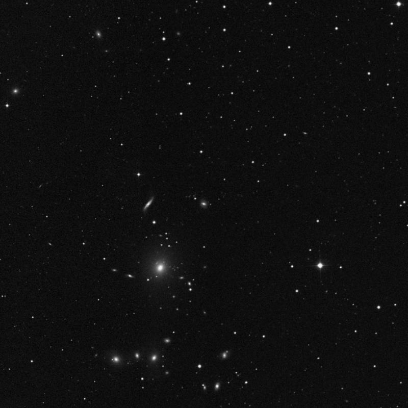 Image of NGC 3152 - Lenticular Galaxy in Leo Minor star
