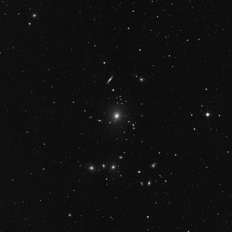 Image of NGC 3158 - Elliptical Galaxy in Leo Minor star