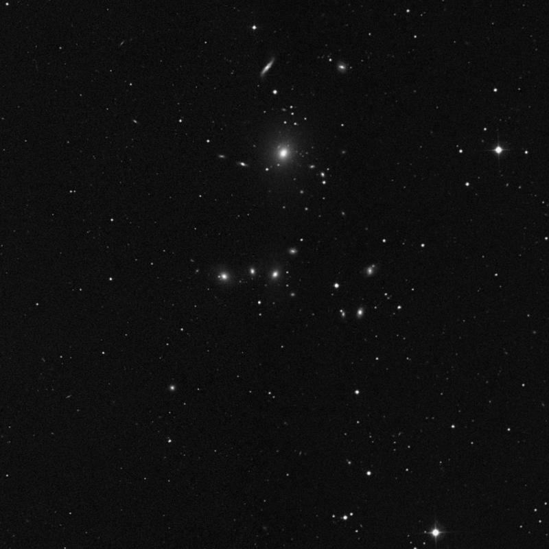 Image of NGC 3159 - Elliptical Galaxy in Leo Minor star