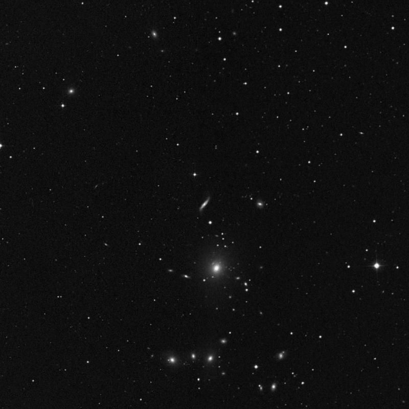 Image of NGC 3160 - Spiral Galaxy in Leo Minor star