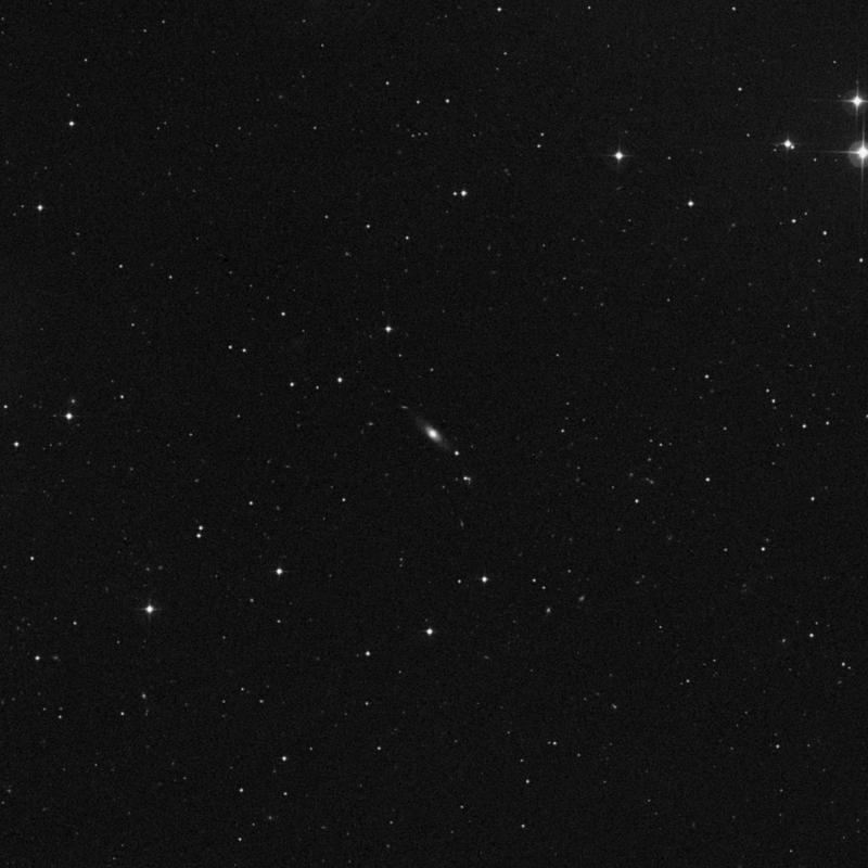 Image of NGC 3179 - Lenticular Galaxy in Ursa Major star
