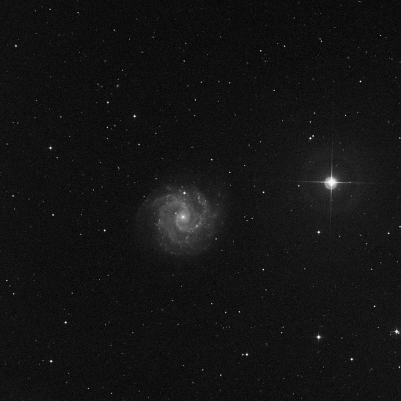 Image of NGC 3180 - HII Ionized region in Ursa Major star
