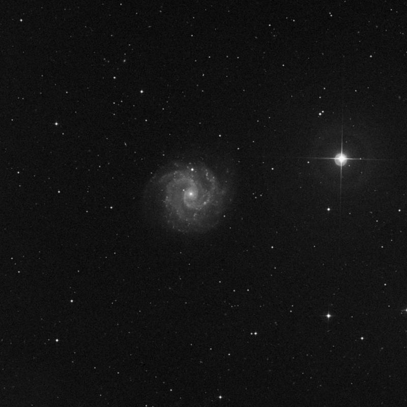 Image of NGC 3181 - HII Ionized region in Ursa Major star