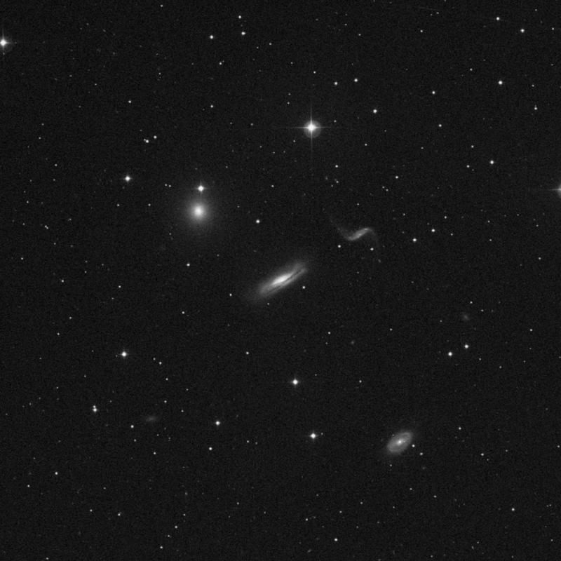 Image of NGC 3189 - Spiral Galaxy star