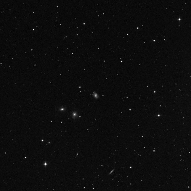 Image of NGC 3202 - Spiral Galaxy in Ursa Major star