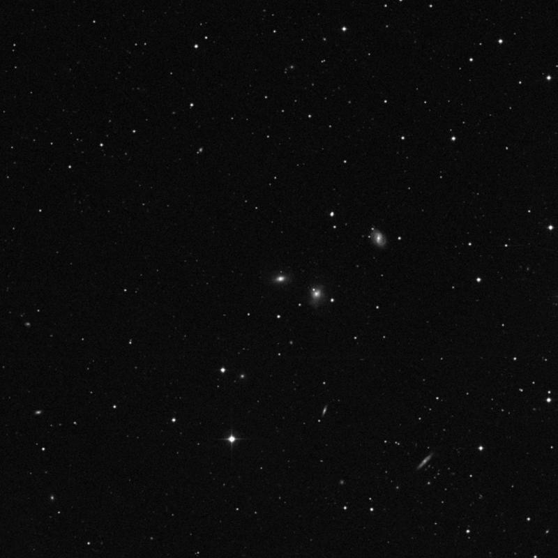 Image of NGC 3207 - Lenticular Galaxy in Ursa Major star