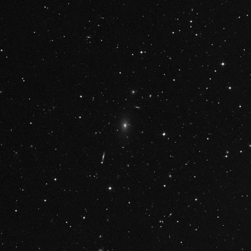 Image of NGC 3216 - Elliptical Galaxy in Leo star