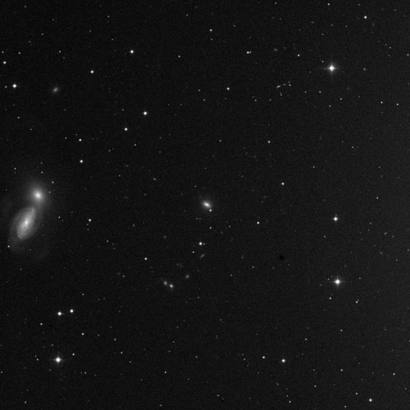 Image of NGC 3222 - Lenticular Galaxy in Leo star