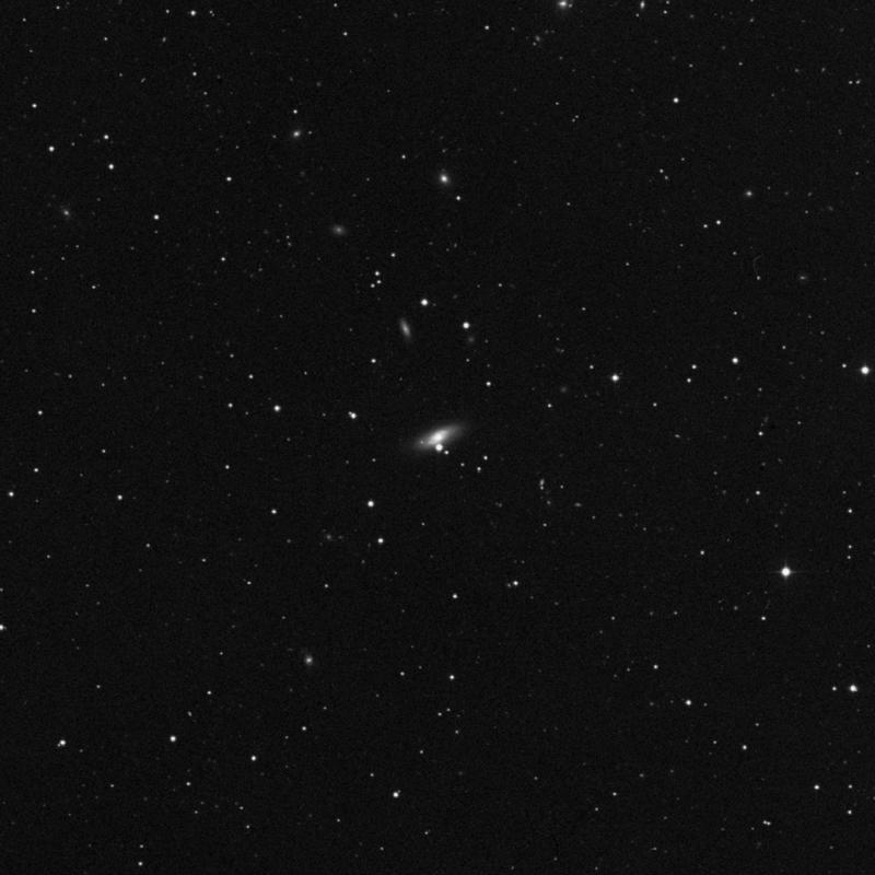 Image of NGC 3230 - Lenticular Galaxy in Leo star