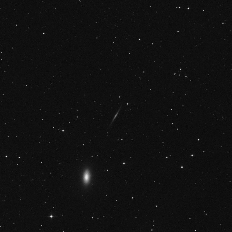 Image of NGC 3245A - Barred Spiral Galaxy in Leo Minor star