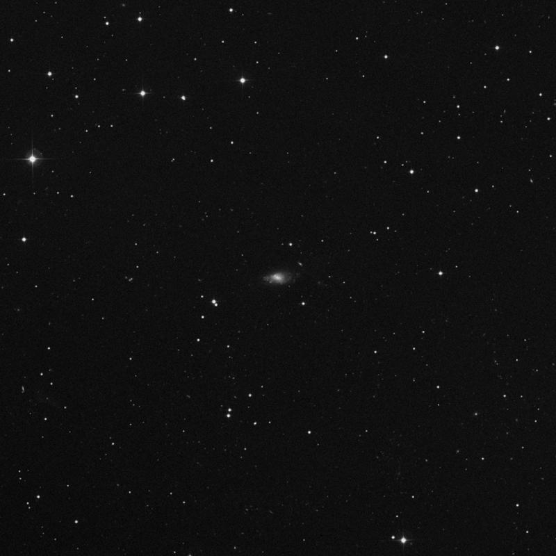 Image of NGC 3274 - Spiral Galaxy in Leo star
