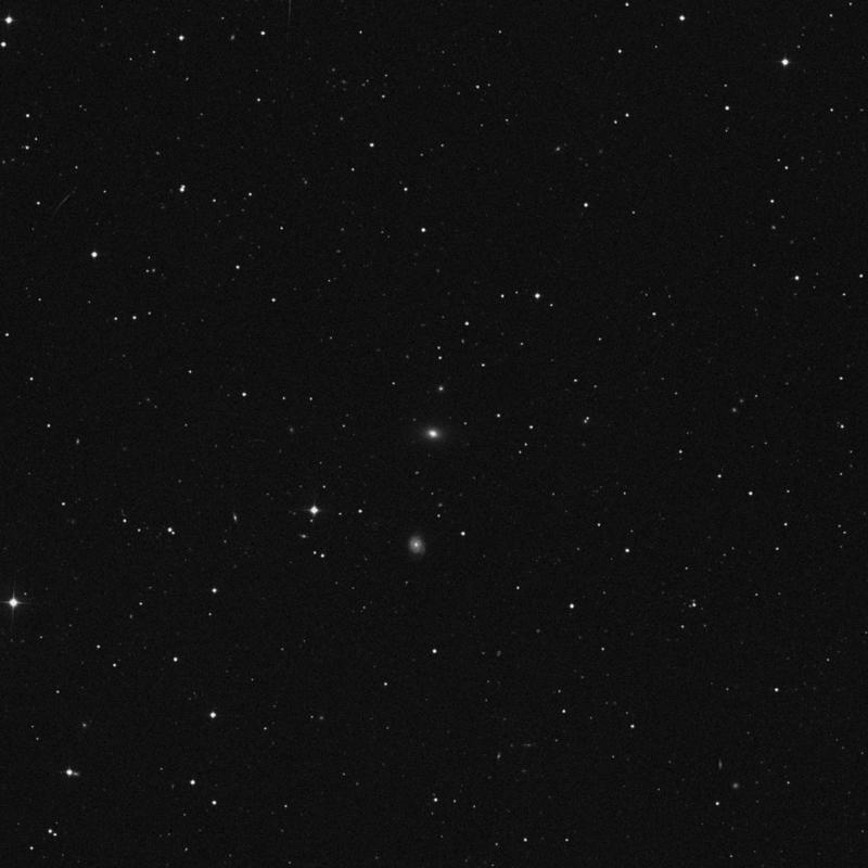 Image of NGC 3284 - Elliptical Galaxy in Ursa Major star