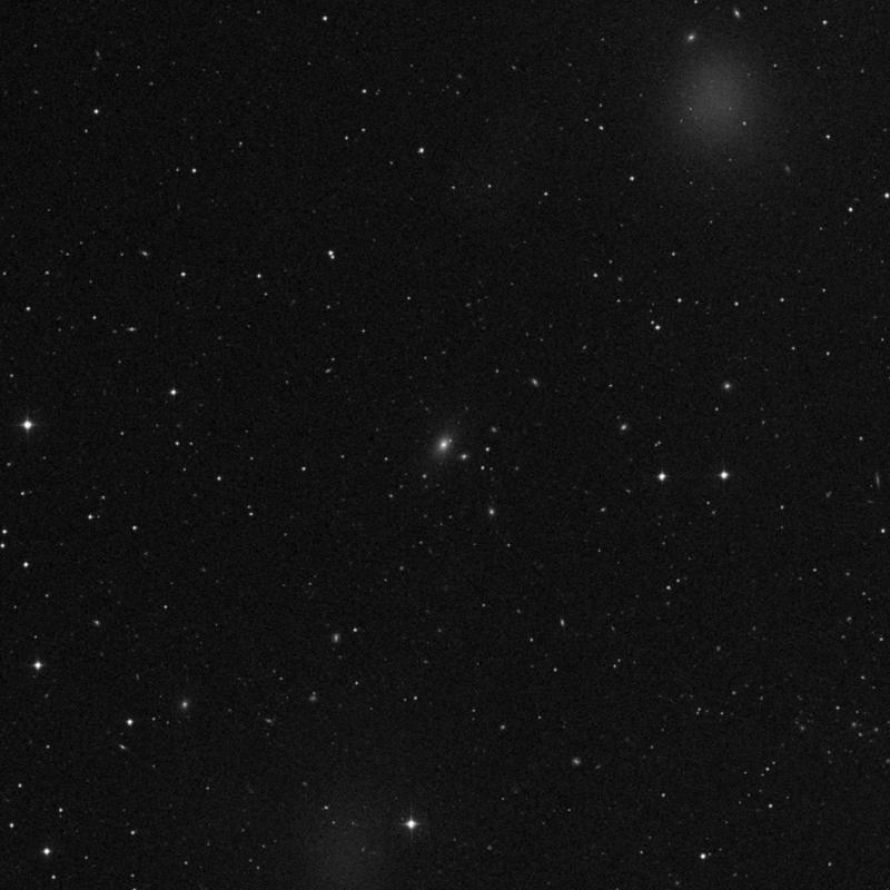 Image of NGC 3298 - Elliptical Galaxy in Ursa Major star