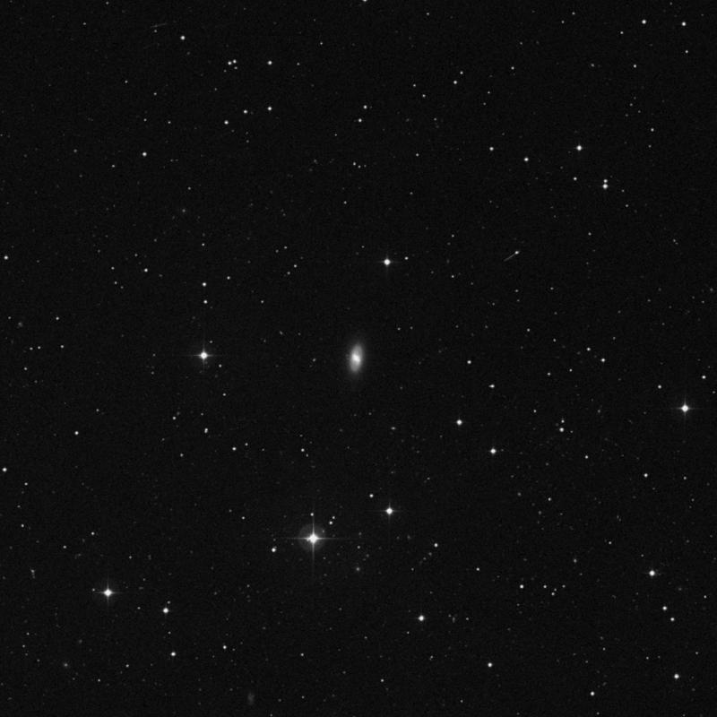 Image of NGC 3300 - Lenticular Galaxy in Leo star