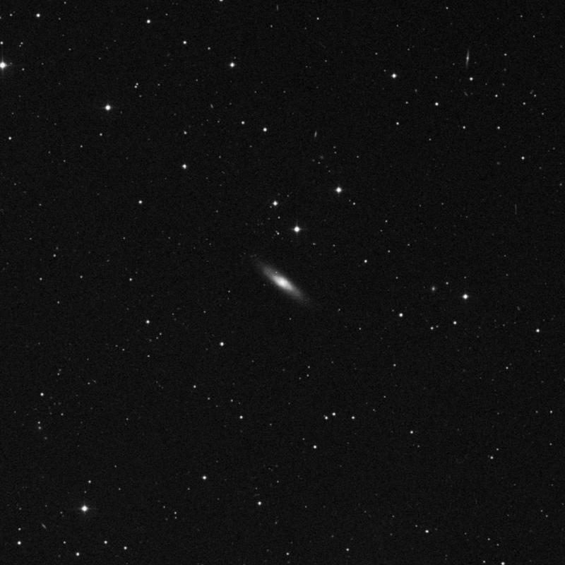 Image of NGC 3301 - Lenticular Galaxy in Leo star