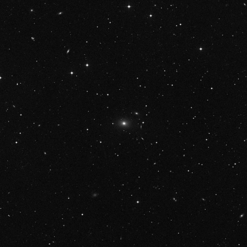 Image of NGC 3357 - Elliptical Galaxy in Leo star
