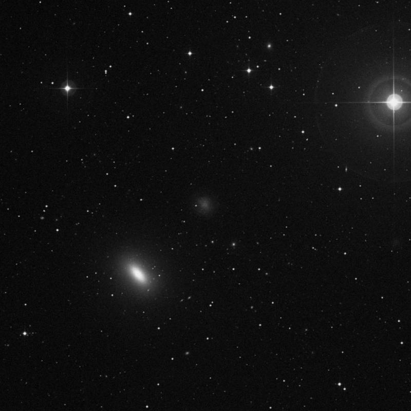 Image of NGC 3377A - Intermediate Spiral(SABm) Galaxy in Leo star