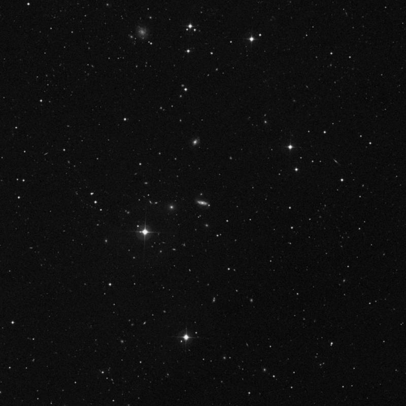 Image of NGC 3398 - Intermediate Spiral Galaxy in Ursa Major star