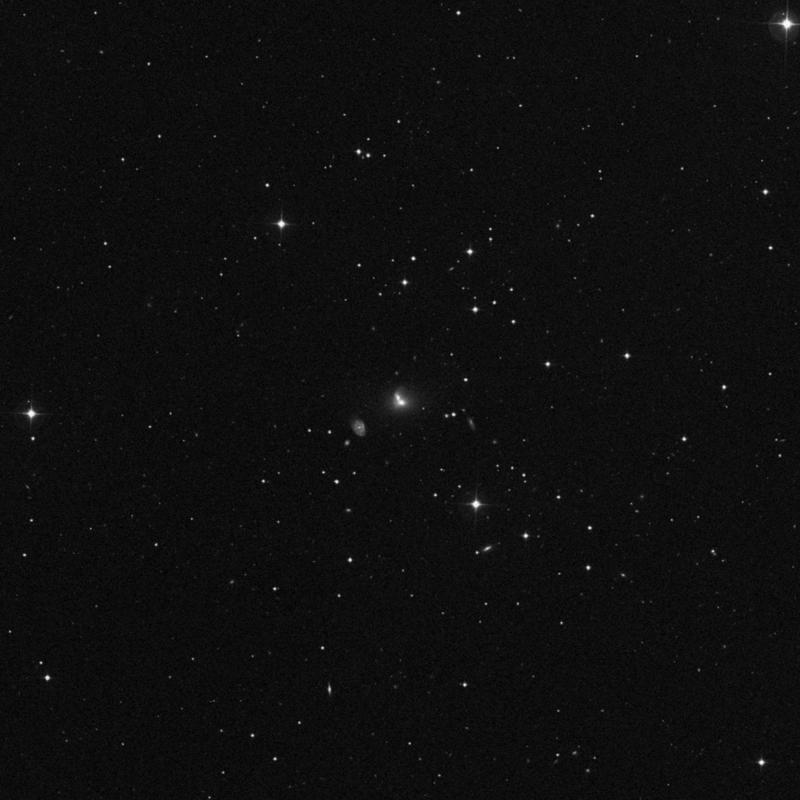 Image of NGC 3406 - Galaxy Pair in Ursa Major star