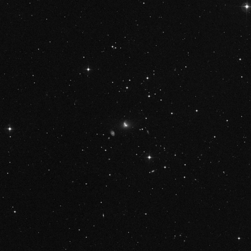 Image of NGC 3406 NED01 - Elliptical Galaxy in Ursa Major star