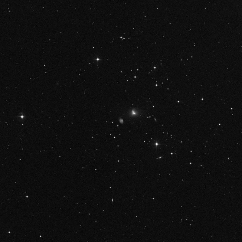 Image of NGC 3410 - Intermediate Spiral Galaxy in Ursa Major star