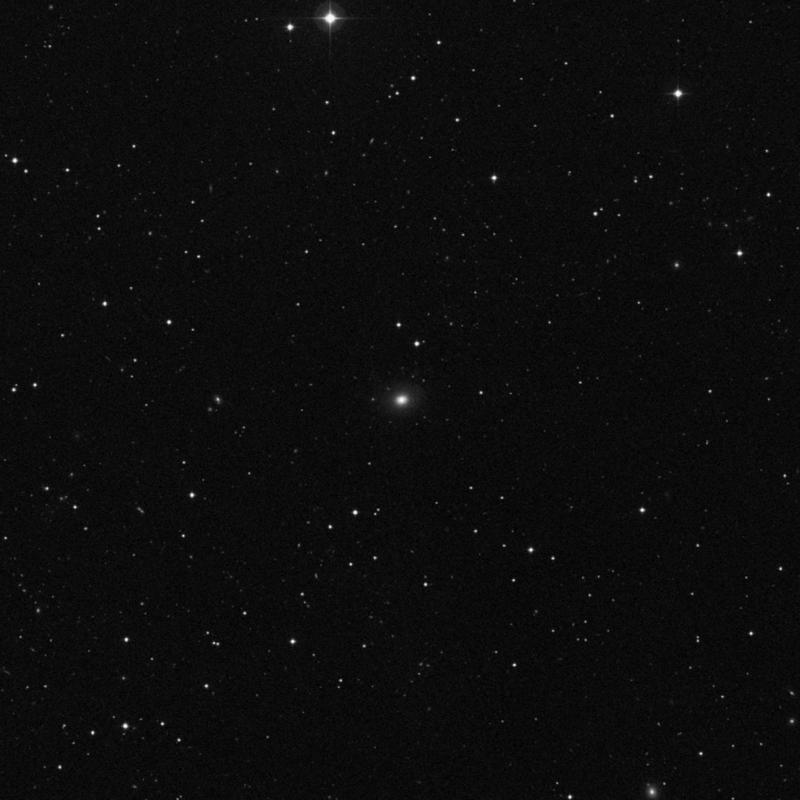 Image of NGC 3426 - Elliptical Galaxy in Leo star
