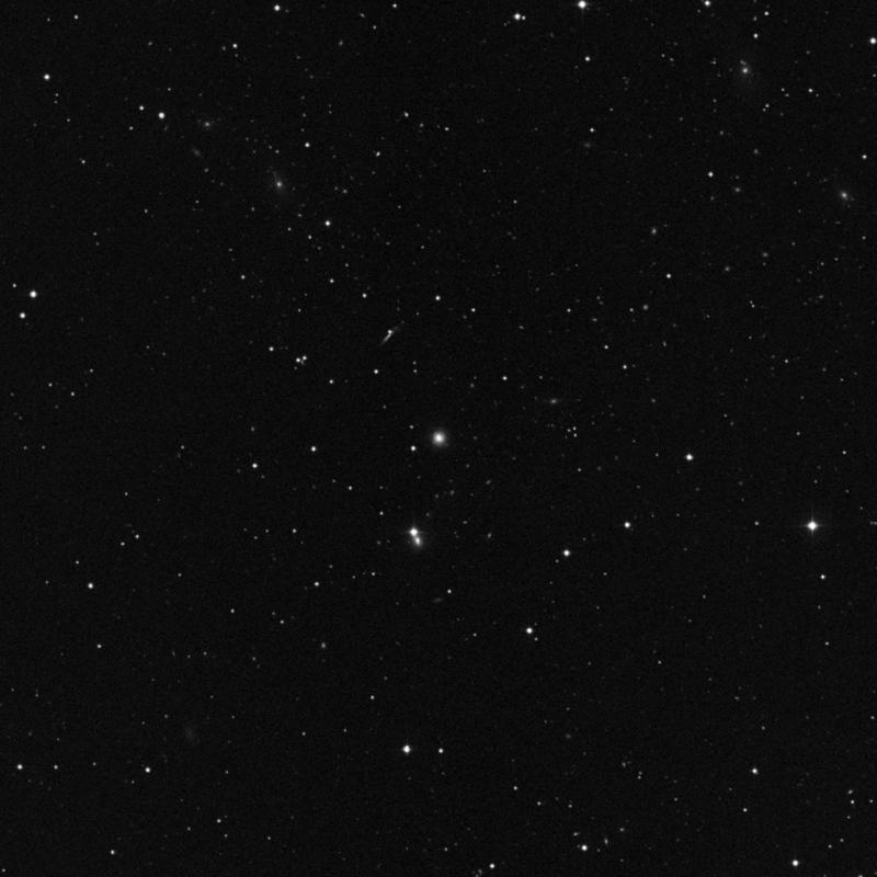 Image of NGC 3438 - Elliptical (E?) Galaxy in Leo star