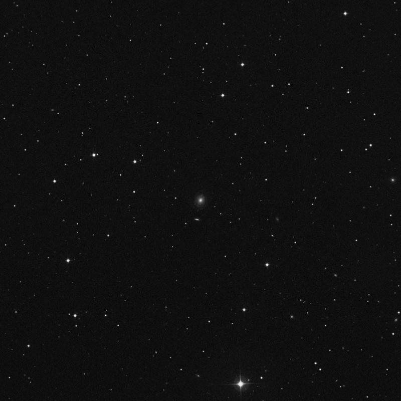 Image of NGC 3470 - Spiral Galaxy in Ursa Major star