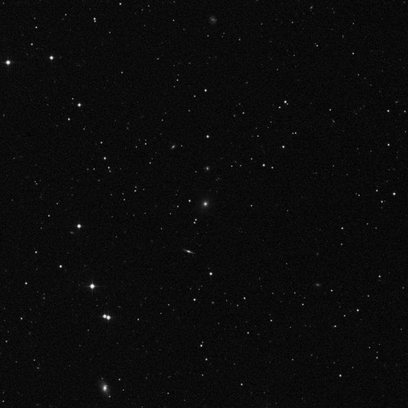 Image of NGC 3476 - Elliptical Galaxy in Leo star