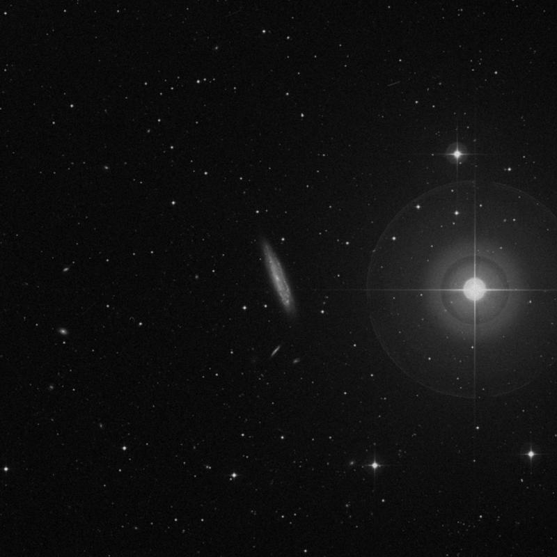 Image of NGC 3495 - Intermediate Spiral Galaxy in Leo star