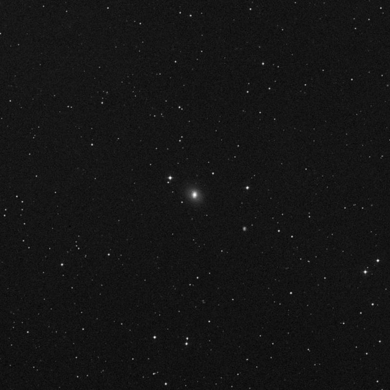Image of NGC 3516 - Lenticular Galaxy in Ursa Major star