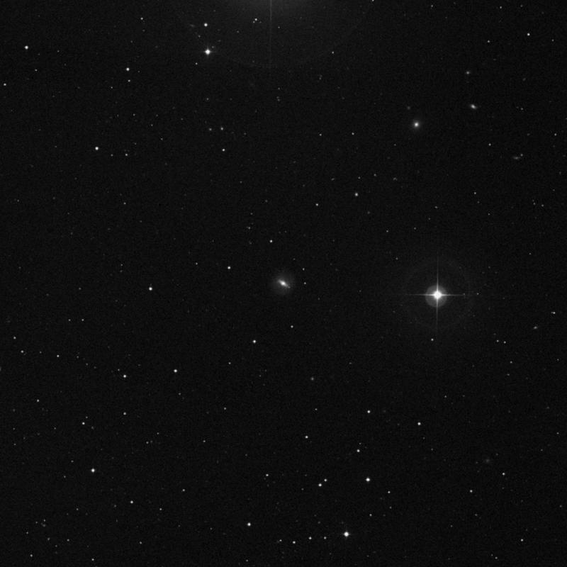 Image of NGC 3540 - Lenticular Galaxy in Ursa Major star