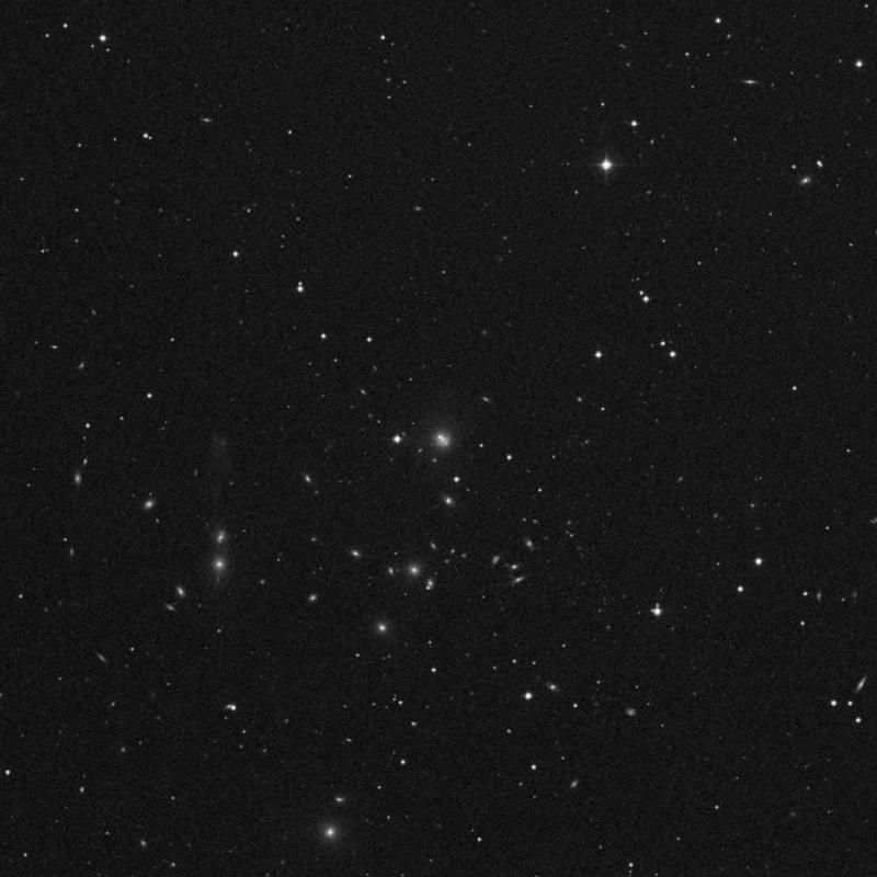 Image of NGC 3550 - Galaxy Pair in Ursa Major star